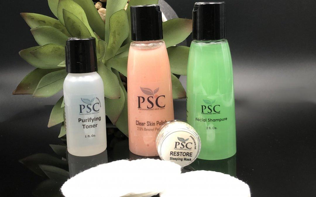 Free Skin care starter set