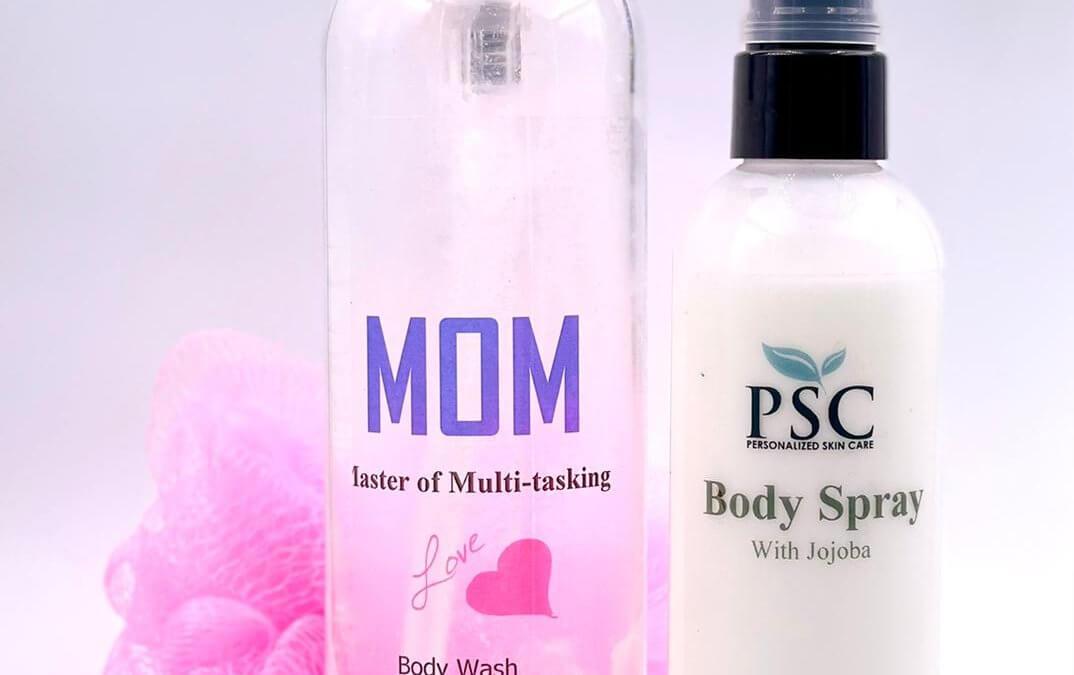Mom body care set